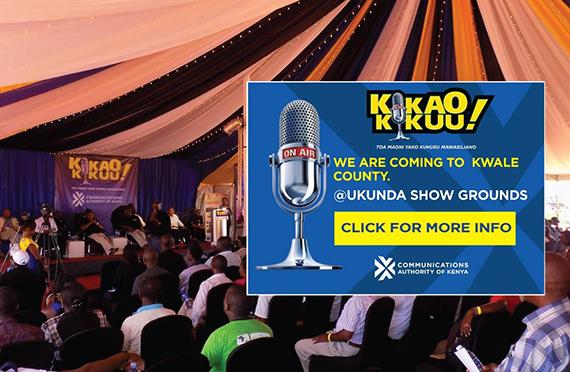 Communications Authority of Kenya's Kikao Kikuu Consumer Forum