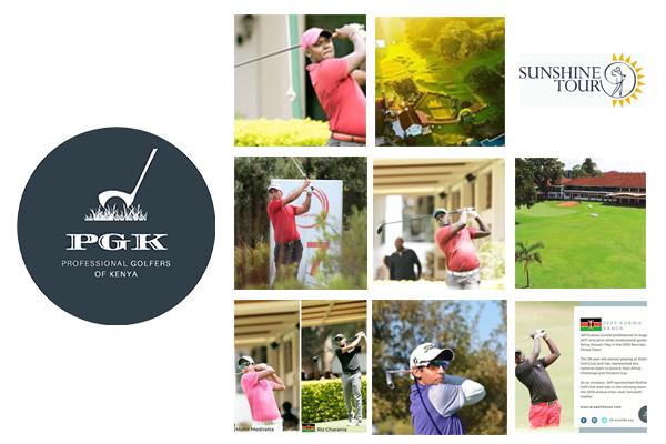 Professional Golfers of Kenya Social Media Feeds & Website Management